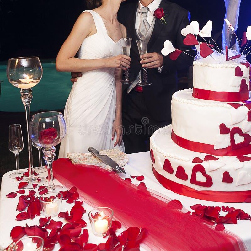 wedding toast royalty free stock image
