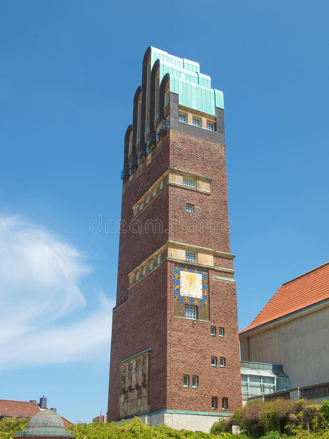 Wedding Tower in Darmstadt royalty free stock photography