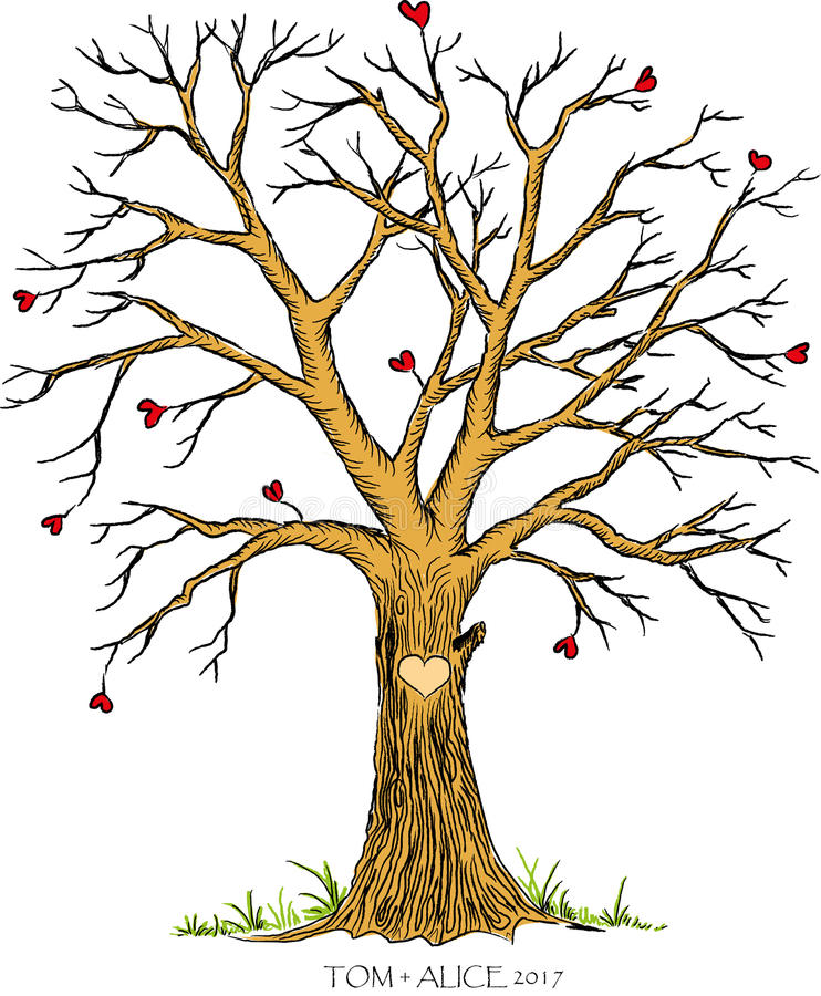 Fingerprint Tree Stock Illustrations – 113 Fingerprint Tree