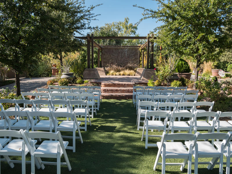 Wedding venue stock photo