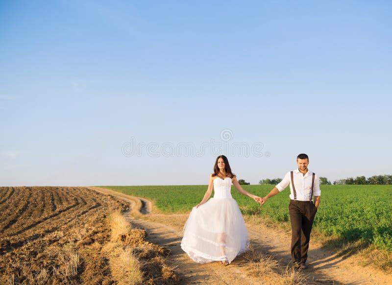 Wedding walk royalty free stock photo
