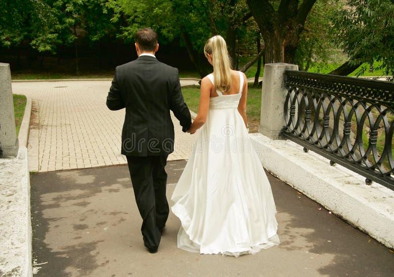Wedding Weg lizenzfreies stockbild
