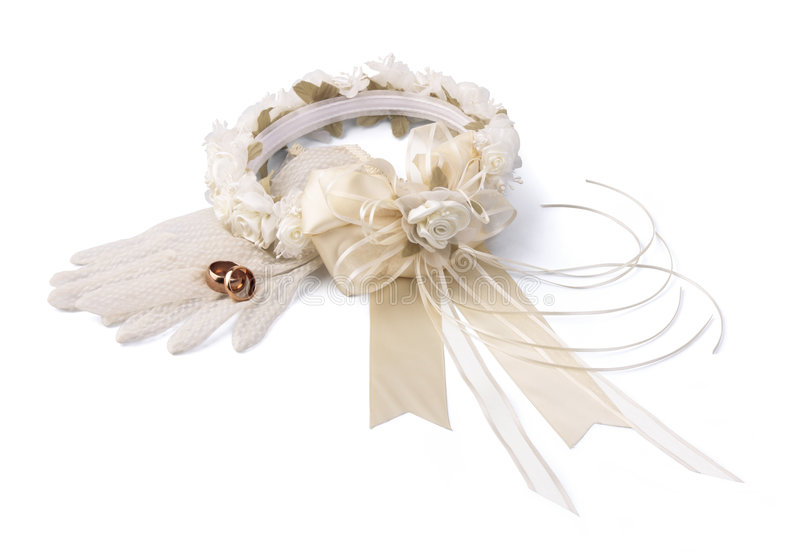 Wedding Wreath lizenzfreie stockfotos