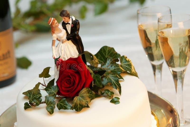 Weddingcake 002 lizenzfreie stockbilder