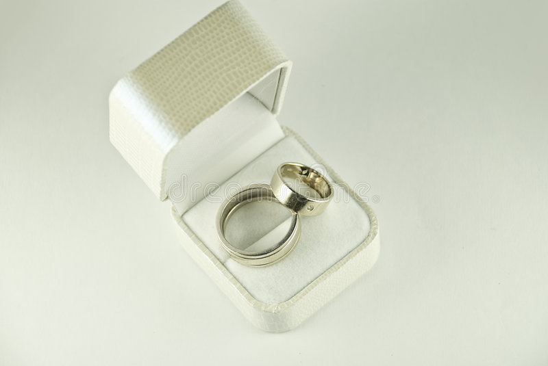 Weddings rings stock photos