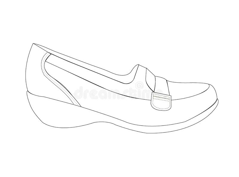 Shoes Sketch Stock Illustrations 14 982 Shoes Sketch Stock Illustrations Vectors Clipart Dreamstime