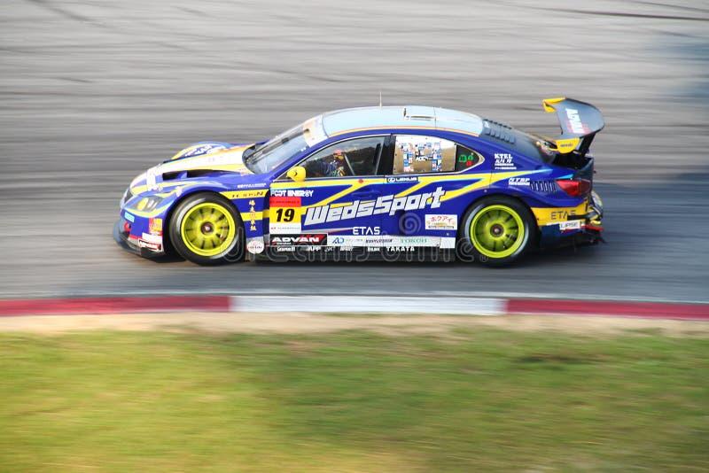 WedsSport Lexus 19, SuperGT 2010 royalty-vrije stock foto's