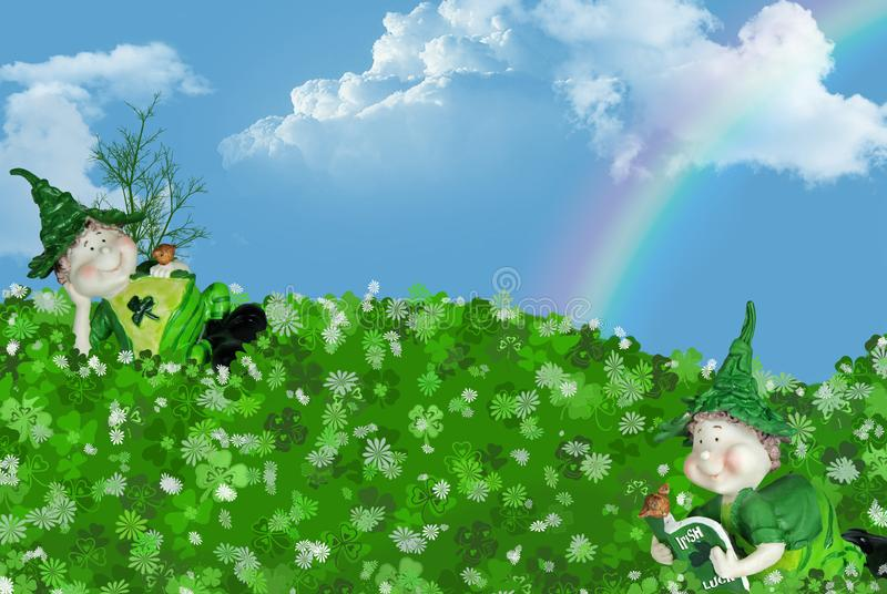 Download Wee Bit Of Luck stock illustration. Illustration of tradition - 8387379