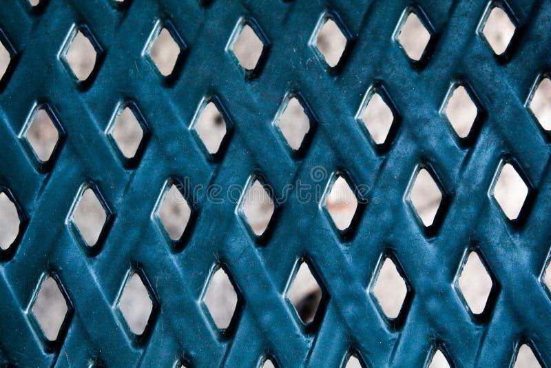 Weefsel blauwe achtergrond, Er is een diamantvorm royalty-vrije stock afbeelding