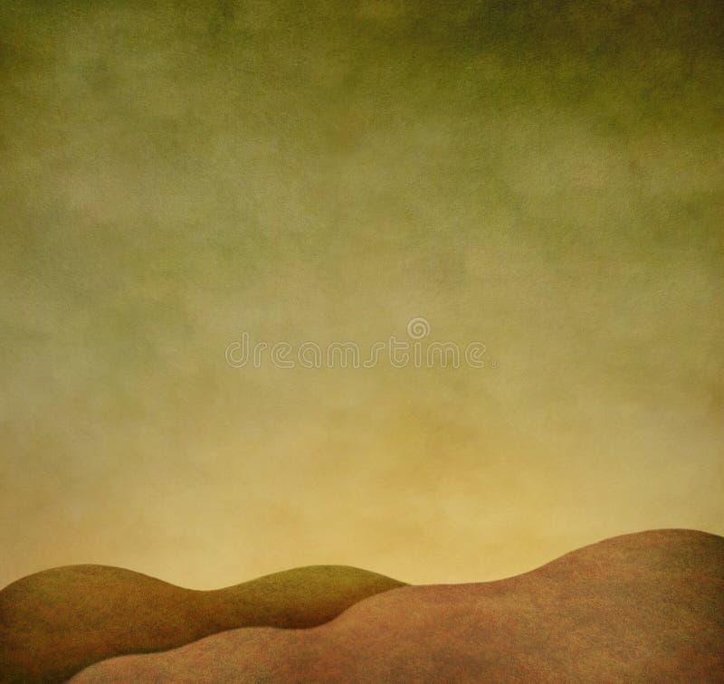 Weefsel de herfstachtergrond stock illustratie
