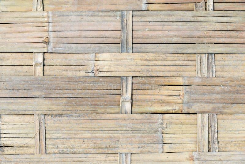 Weefsel van bamboe achtergrondtextuur stock fotografie