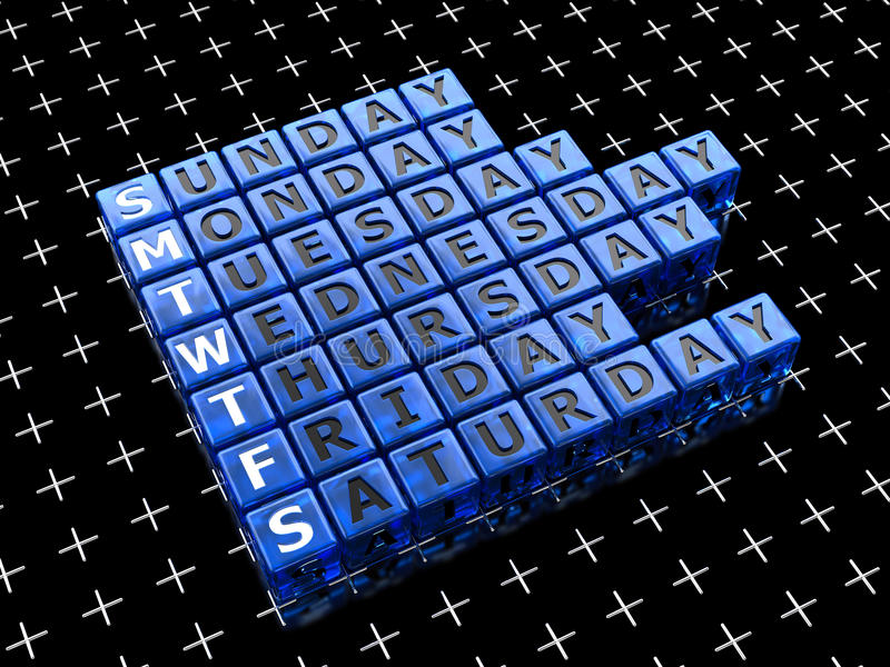 Download Week Stock Photography - Image: 24279362