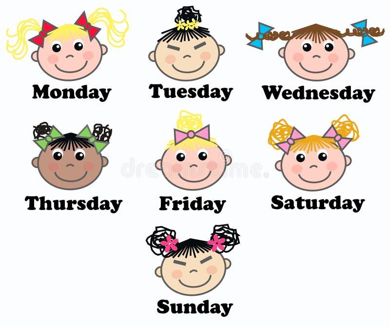 Week Days Royalty Free Stock Photo