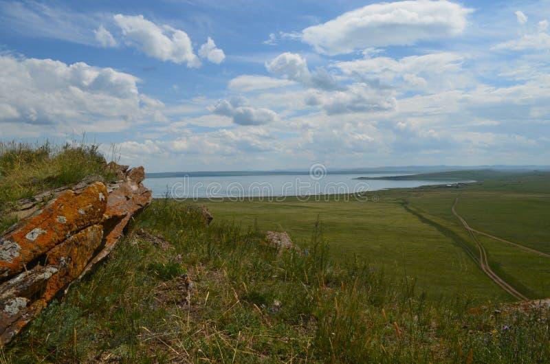 Beautiful nature of Siberia stock images