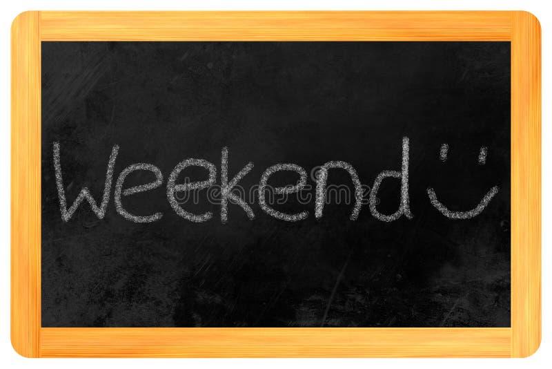 Download Weekend on a blackboard stock illustration. Illustration of conference - 31845778