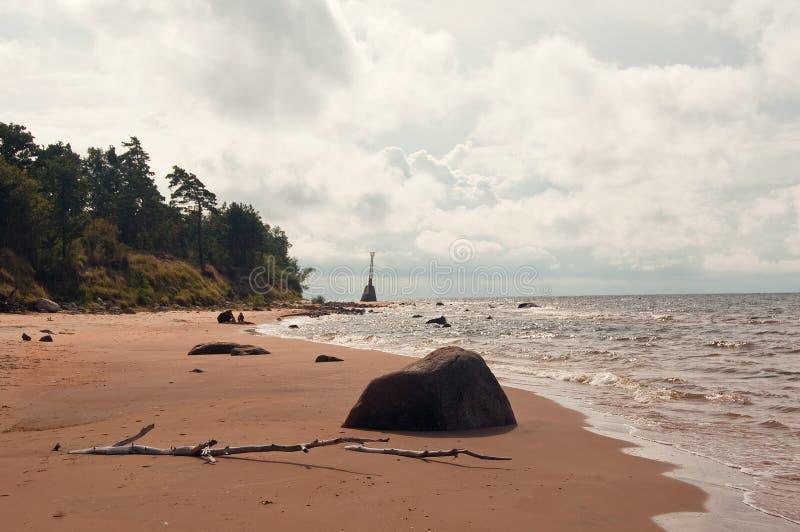 Weekend op zee royalty-vrije stock fotografie