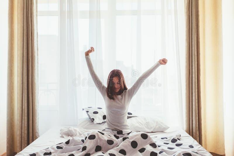 Weekendochtend in hotel stock foto's