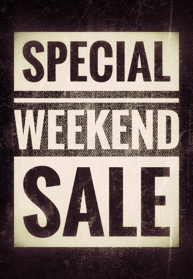 Weekendowa sprzedaż obraz stock