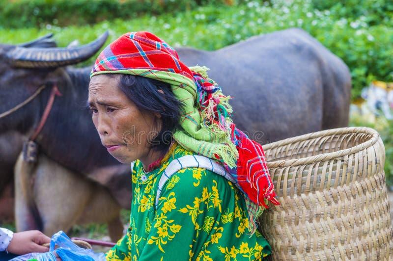 Weekendu rynek w Van Wietnam zdjęcia stock