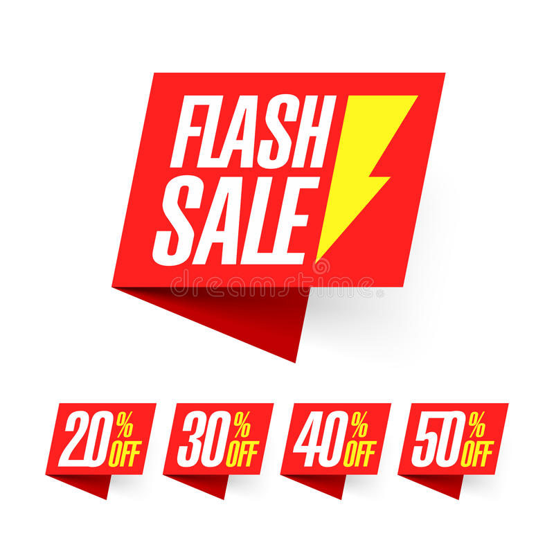 Free Weekly Flash Sale Banner Royalty Free Stock Image - 67957166