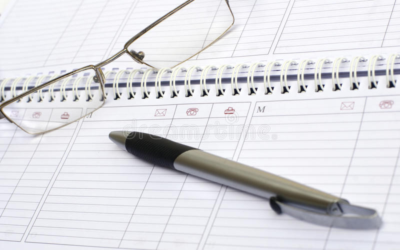 Download Weekly Journal, The Handle And Points Stock Photo - Image: 9613990