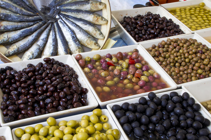 Download Weekly Market Olives Shop Royalty Free Stock Images - Image: 24284369