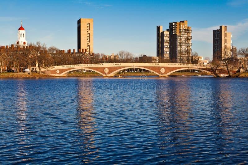 Weeks Memorial Footbridge Stock Image