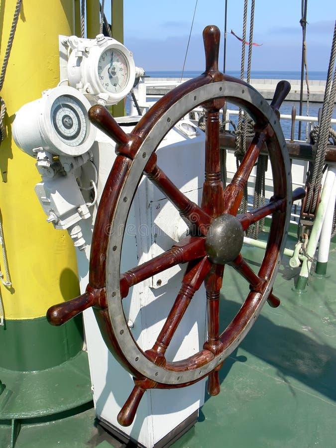 Weel della nave fotografia stock libera da diritti