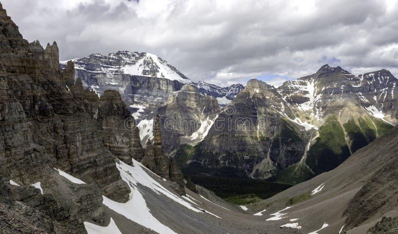 Weergave van de vallei van het Paradijs stock foto