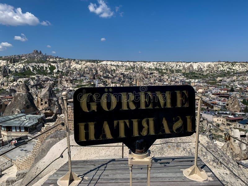 Weergeven van de oude stad in Georgië stock fotografie