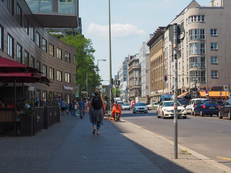 Weergeven van de stad van Berlijn stock fotografie