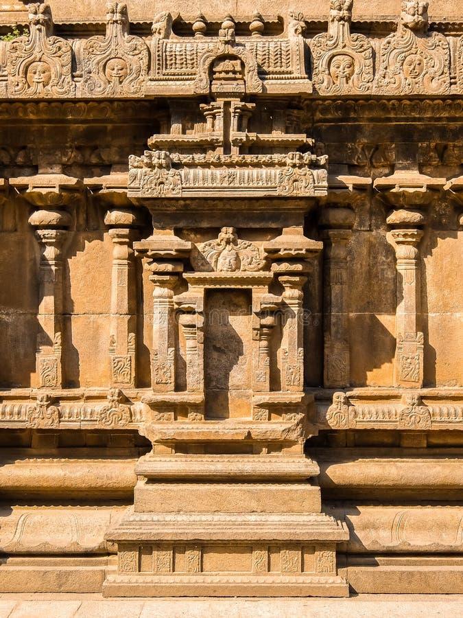 Weergeven van de Tempel van Sri Jalakandeswarar in Vellore stock foto