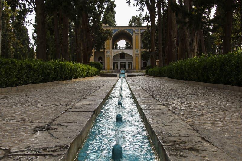 Weergeven van de Vintuin of de Vin Bagh dichtbij de Perzische stad van Kash royalty-vrije stock fotografie