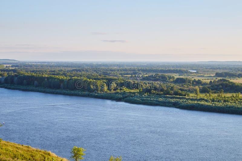Weergeven van de Witte rivier royalty-vrije stock afbeeldingen