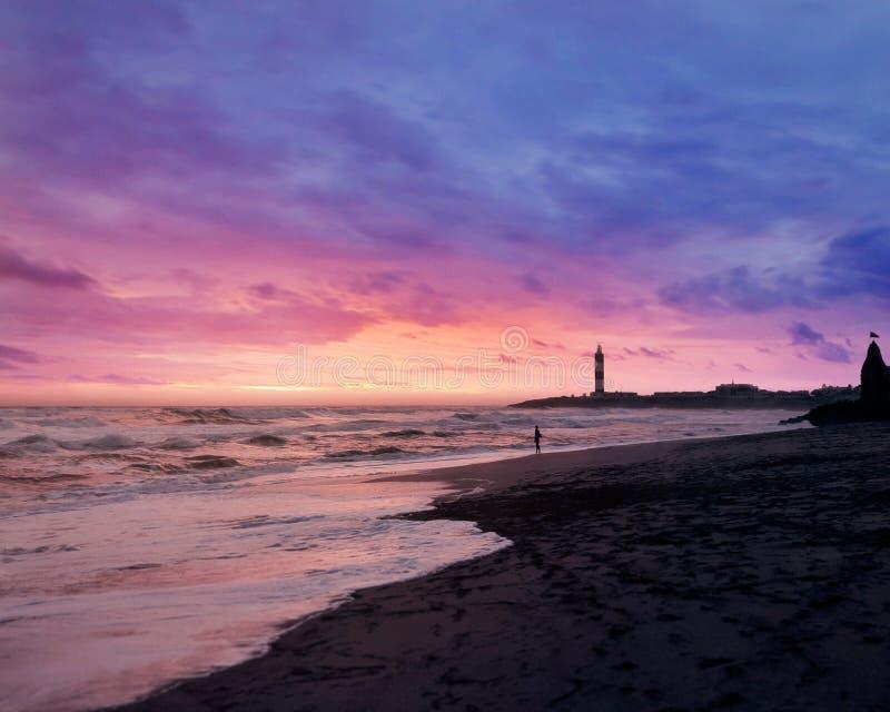Weergeven van Dwarka Beach Gujarat, India?? ?voorraadbeeld stock foto's