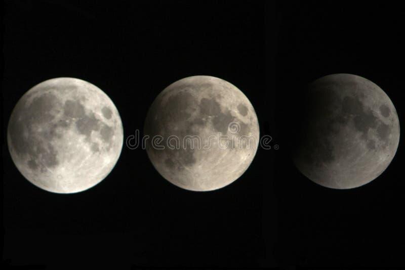 Weergeven, van een fase, van de maanverduistering royalty-vrije stock foto