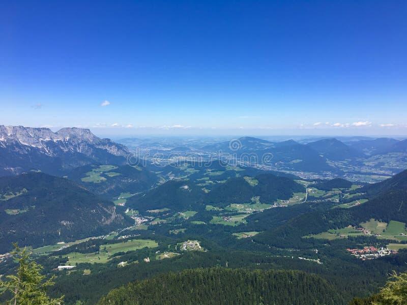 Weergeven van Obersalzberg stock afbeelding