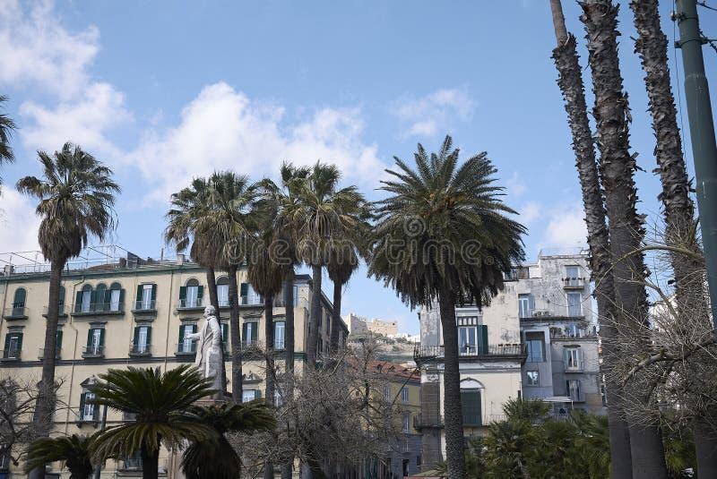 Weergeven van Piazza Vittoria royalty-vrije stock fotografie