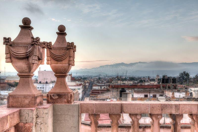Weergeven van San Luis Potosi van de stad in royalty-vrije stock afbeeldingen
