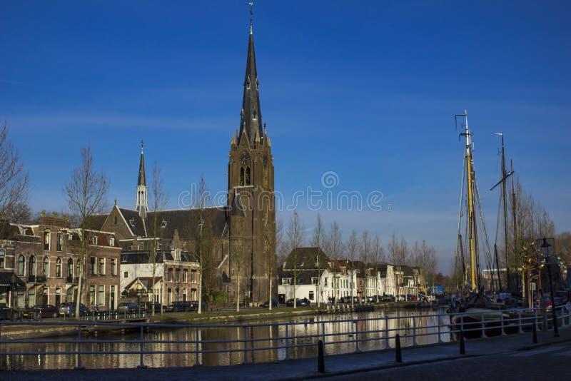 Weesp, die Niederlande lizenzfreies stockfoto