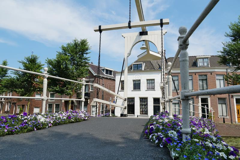 Weesp en los Países Bajos imagen de archivo libre de regalías