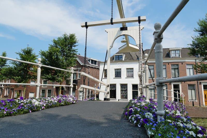 Weesp nei Paesi Bassi immagine stock libera da diritti