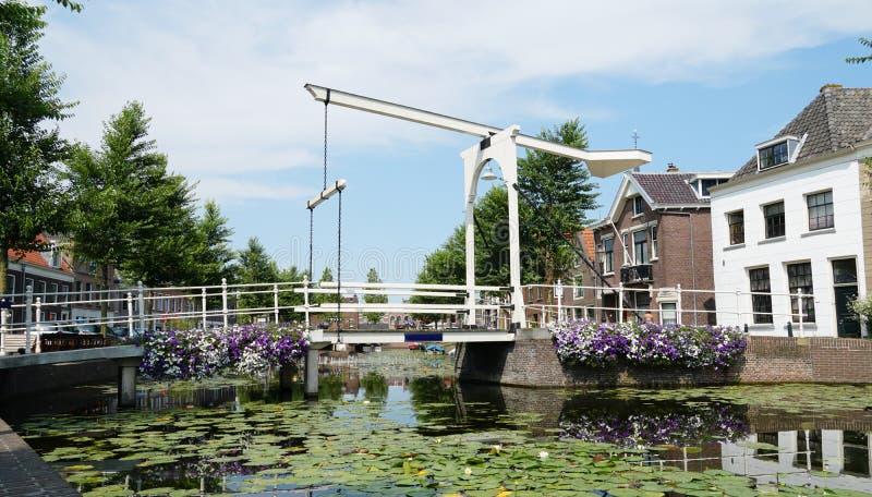 Weesp w holandiach obraz stock