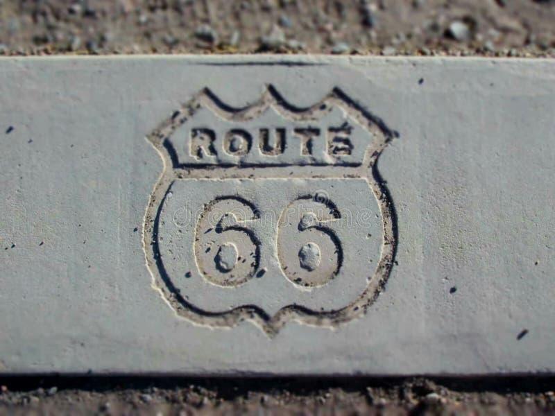 Weg 66 lizenzfreie stockbilder