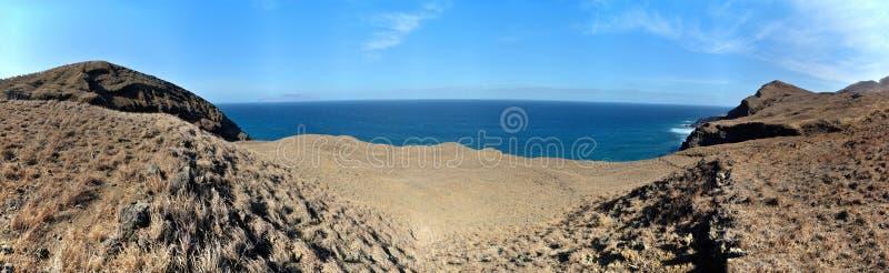 Weg aan oceaan stock fotografie