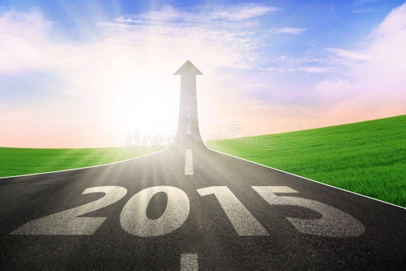 Weg aan toekomst 2015 royalty-vrije stock foto's