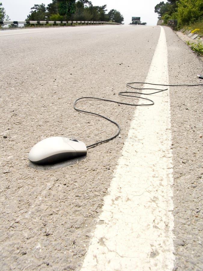 Weg der Maus stockfoto
