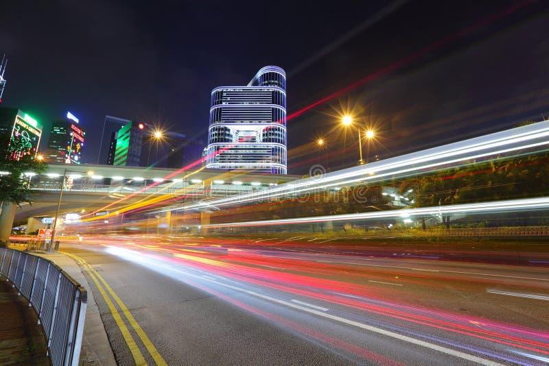 Weg in Hong Kong stock foto