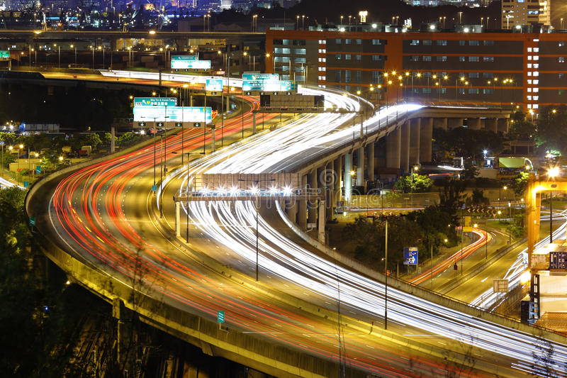 Weg in Hongkong royalty-vrije stock foto