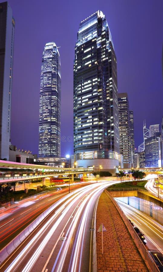 Weg in Hongkong stock foto